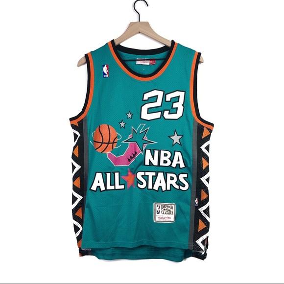 hot sale online eeb2a 4452b Michael Jordan 1996 NBA All Stars Retro Jersey Sm
